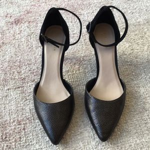 Cole Haan heels with ankle strap